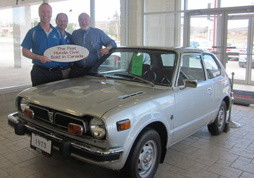 1973 Honda Civic